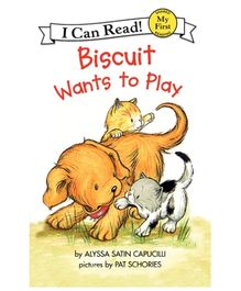 Harper Collins Biscuit Wants To Play - English