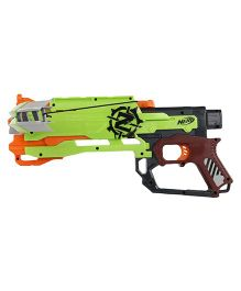 Funskool Nerf Zombie Strike Crossfire Gun - Green