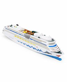 Siku Cruise Liner Die Cast Miniature - Blue White