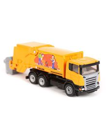 Siku Die Cast Refuse Lorry Toy - Orange