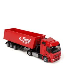 Siku Die Cast Lorry With Trough Tipper - Red