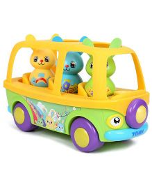 Tomy Funskool Sing n Learn Bunny Bus - Multicolour