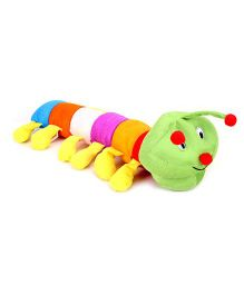 IR Caterpillar Soft Toy Length 51 cm (Color May Vary)