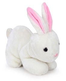 IR Rabbit Soft Toy - White