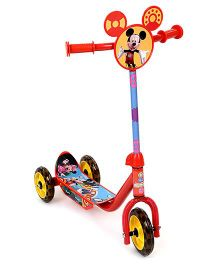 Disney Mickey Mouse And Friends Scooter - Red And Yellow