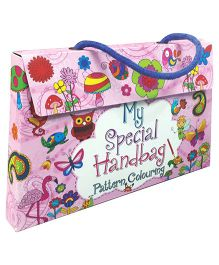 Young Angels My Special Handbag Pattern Colouring Book - Pack Of 5