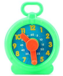 Venus PVC Learn Time Clock - Multi Colour