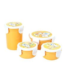 Pratap Hyper Locked Gift Set - Yellow And White