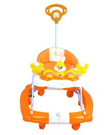 R for Rabbit Humpty Dumpty The Safe Rocking Walker - Orange