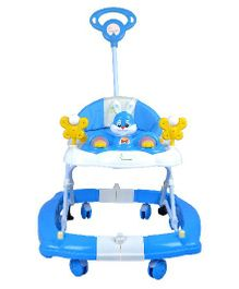 R for Rabbit Humpty Dumpty The Safe Rocking Walker - Blue
