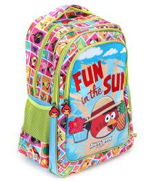 Angry Birds School Bag Fun in The Sun - 17 Inches