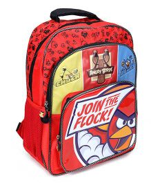Angry Birds School Bag Red - 16 Inches