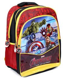 Avengers Shoulder Bag Black And Yellow - 16 Inches