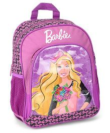 Barbie Purple Backpack - 14 Inches
