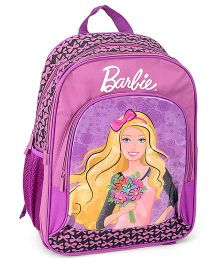 Barbie Purple Backpack - 16 Inches