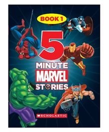 Scholastic 5 Minute Marvel Stories Book 1 - English