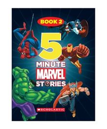 Scholastic 5 Minute Marvel Stories Book 2 - English