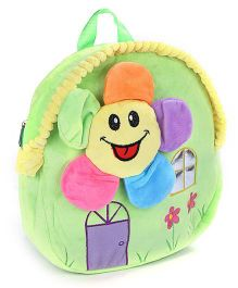 Fab N Funky Soft Toy Plush Bag Sun Face - 10 Inches