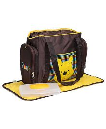 Winnie the Pooh Diaper Bag - Brown
