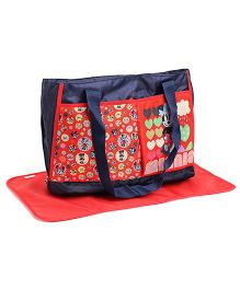 Mickey Mouse And Friends Diaper Bag - Red