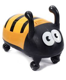 Fab N Funky Potty Seat Honey Bee Shape - Yellow And Black