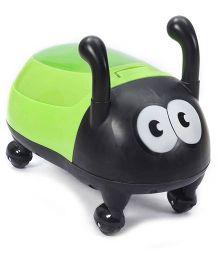 Fab N Funky Potty Seat Bug Shape - Green And Black