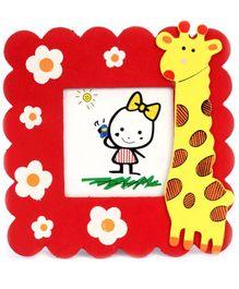 Fab N Funky Photo Frame - Giraffe Motif