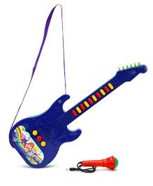 Prasid Mini Guitar With Mic - Blue And Green
