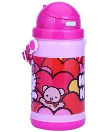 Hello Kitty Insulated Sipper Bottle - 400 ml