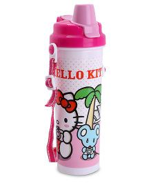 Hello Kitty Water Bottle -  Pink