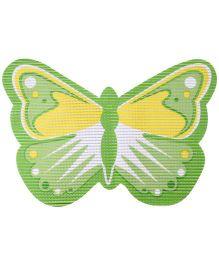 Fab N Funky EVA Room Mat Green - Butterfly Design
