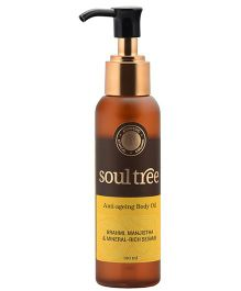 SoulTree Brahmi And Manjishta Anti Aging Oil - 120 ml