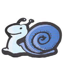 Fab N Funky Eva Mat Blue - Snail Design