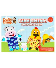 Crafty Chimp Farm Friends Paper Bag Puppets