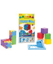 Happy Cube Puzzle - Multicolour