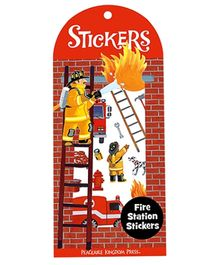 Peaceable Kingdom Fire Station Stickers