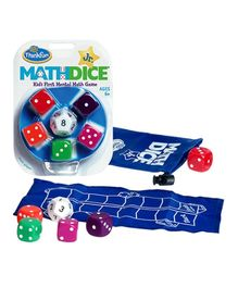 Think Fun Math Dice Jr