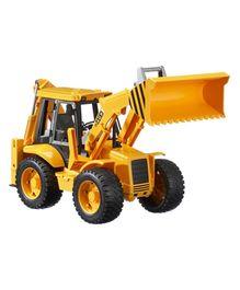 Bruder JCB 4CX Backhoe Loader - Yellow