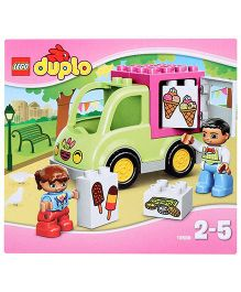 Lego Duplo Ice Cream Truck - 11 Pieces