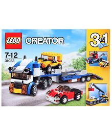 Lego Creator 3 In 1 Vehicle Transporter - 264 Pieces