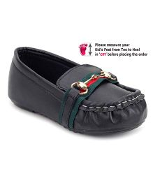 Ket Slip-On Loafer Shoes - Black