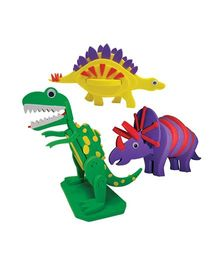 Imagi Make 3D Puzzle Dinos - Multi Color