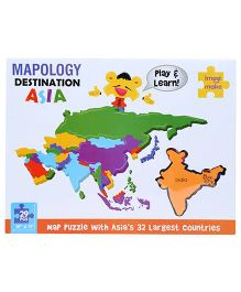 Imagi Make Puzzle Destination Asia - 29 Pieces