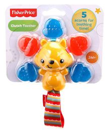 Fisher Price Clutch Teether - Multi Colour