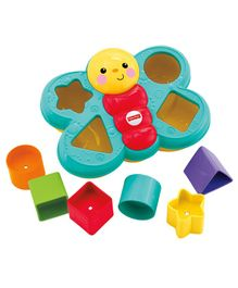 Fisher Price Butterfly Shape Sorter (Color May Vary)