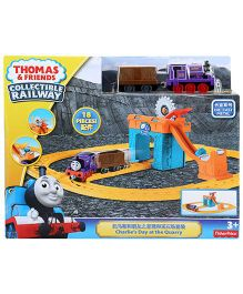 Thomas And Friends Charlies Day at The Quarry Playset - 18 Pieces