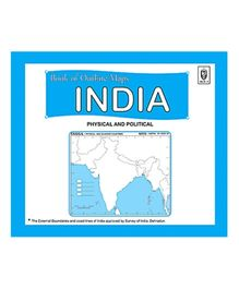 Indian Book Depot map house Book of Outline maps India - Physical And Political