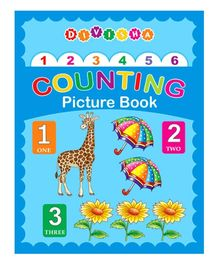 Indian Book Depot Divisha Counting Picture Book (laminated)
