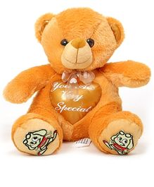 DealBindaas Stuff Toy Teddy Bear Sitting with InBuilt Heart 25 cm (Colors May Vary)