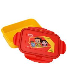 Chhota Bheem Lunch Box - Yellow And Red